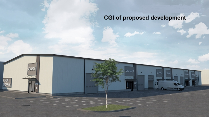 Gallery image for New Proposed Trade Counter Development