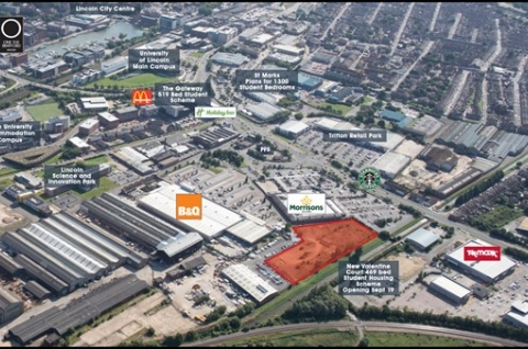 Thumbnail for Land Sale for Supermarket Chain