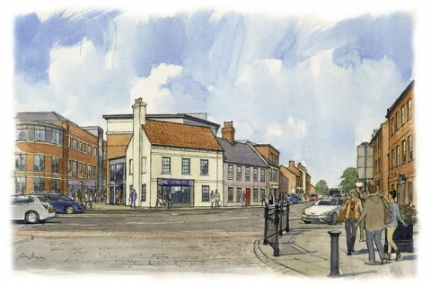 Thumbnail for Newark & Sherwood District Council  announce work to start on Robin Hood Hotel, Newark