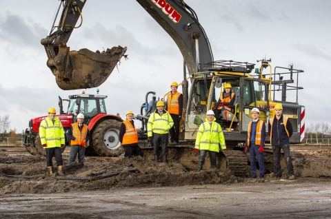 Thumbnail for  St. Modwen breaks ground on second phase of development at Lincoln scheme