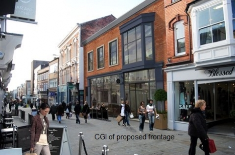 Thumbnail for Works starts on transformation of dated shopping centre in Lincoln