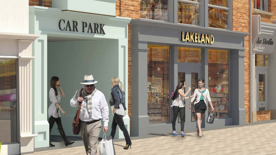 Featured image 1 for Lakeland to join Lincoln's Cornhill Quarter