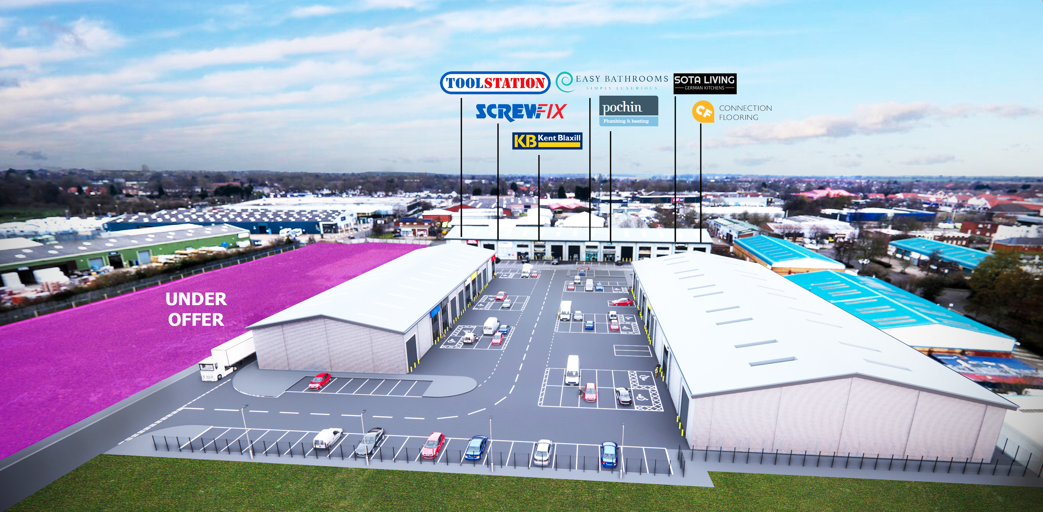 Featured image 1 for Phase 2 of Bishops Trade Park to bring 200+ Jobs to Lincoln