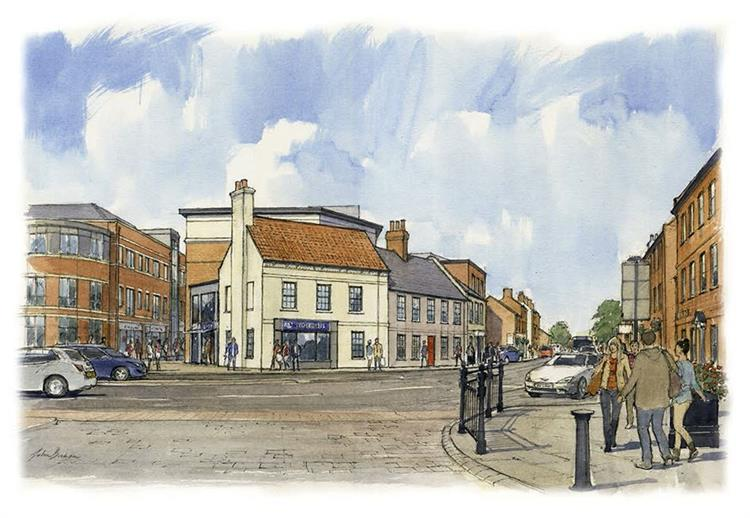 Featured image 1 for Newark & Sherwood District Council  announce work to start on Robin Hood Hotel, Newark